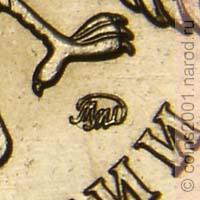 монета 5 рублей 1998 года спмд стоимость