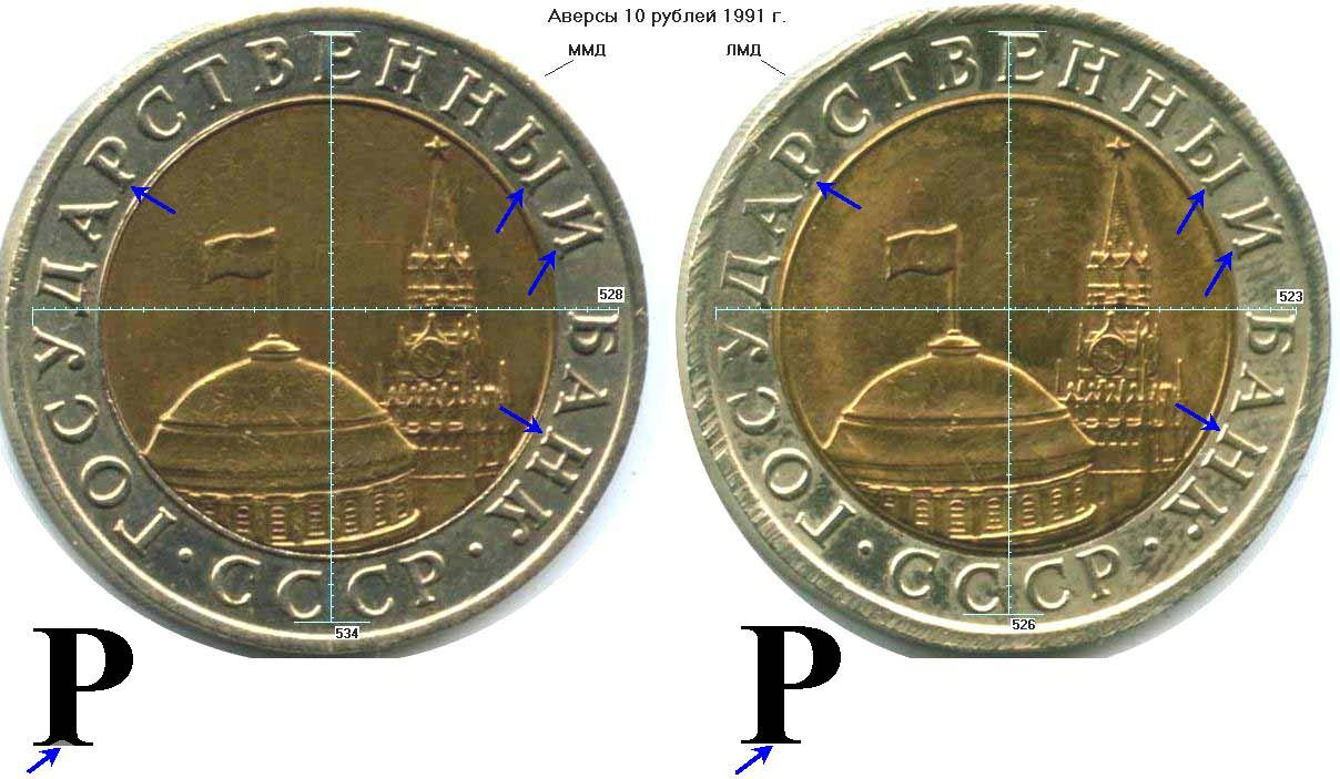 10 рублей 1991 биметалл ммд банкноты 1995 года стоимость
